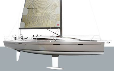 Dehler 42, delivery of the hull # 028